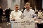 Peter Marstrander og Artur Malinowski vant i Bergen